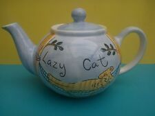 Whittard of Chelsea 'Lazy Cat' Teapot by Beth - Small size suitable for one