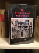 The Stephen King Companion LIMITED EDITION SIGNED 278/1000 George Beahm