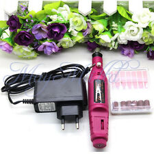Pen Shape Electric Nail Drill Set File Bit Acrylic Manicure Pedicure Hot Sale G