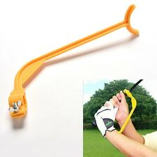 Golf Swing Beginner Practice Trainer Guide Gesture Alignment Training Aid Tools