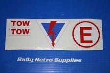kill switch battery isolator cut off sticker MG metro gta rally race b