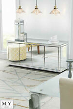 My-Furniture Chelsea fully mirrored sideboard cabinet
