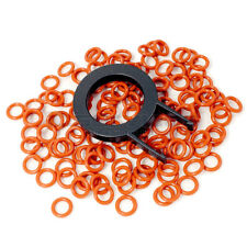 120 O-Ring Noise Dampener + Key Puller für mechanische Cherry MX Keyboards SOFT