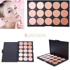 15 Contour Concealer Palette Set Under Eye Face Cream Make up Creamy Pallette .