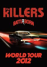 The Killers Battle born Repro Tour POSTER