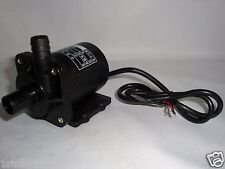 12VOLT DC SUBMERSIBLE WATER FOUNTAIN PUMP 145GPH 10' LIFT - 12V BATTERY OR SOLAR