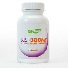 BUSTBOOM BREAST ENLARGEMENT FEMALE ENHANCEMENT ACNE PILLS BUST BOOM CLEARS SKIN!