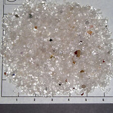 QUARTZ Clear Cloudy Chips 2-10mm semi-tumbled 1/2 lb bulk crystal L03