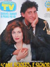 TV Sorrisi e Canzoni n°3 1991 Sergio Castellito - Marta Flavi Giuliano Ferr [D5]