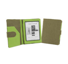 Kobo Mini eReader Khaki Green Natural Hemp Cover Case with Auto Sleep Wake