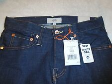 Jack Spade BT-02 Selvage Slim Fit Jeans White Oak Cotton NWT $248 Made in USA 28