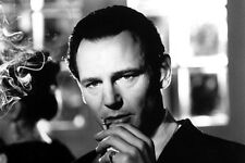 Liam Neeson 11x17 Mini Poster Schindler's List smoking cigarette moody photo