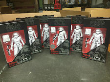 STAR WARS BLACK SERIES 5 first order snowtroopers and snowtrooper officer TRU