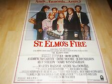 St ELMO'S FIRE   ! affiche cinema