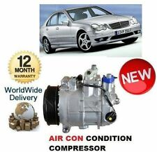 FOR MERCEDES C180 W203 10/2000-5/2002 NEW AC AIR CON CONDITIONING COMPRESSOR