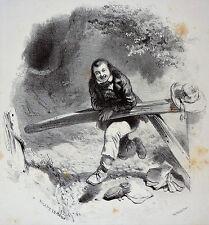 Eugène LEROUX Lithographie BERTAUTS