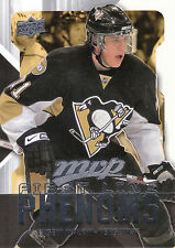 08-09 UPPER DECK MVP FIRST LINE PHENOMS #FL4 EVGENI MALKIN PENGUINS *8216