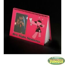 HEN NIGHT PARTY DO MEMENTO MEMORY BOOK BRIDE TO BE GIRLS NIGHT OUT