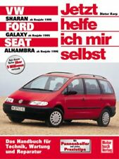 WERKSTATTHANDBUCH JETZT HELFE ICH MIR SELBST 200 VW SHARAN FORD GALAXY SEAT