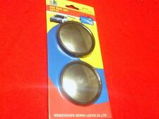 2 MINI CAR BLIND SPOT MIRROR 2 INCHES NEW IN PACKAGE GREAT QUALITY