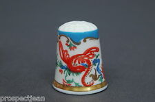 Special Offer Royal Worcester Jabberwocky China Thimble B/39