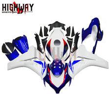 Fairings Kit For Honda CBR1000RR 2008-2011 2009 D2 ABS Bodywork HRC White Blue W