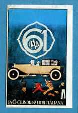 STORIA DELL'AUTOMOBILE Panini Figurina-Sticker n. 40 - ITALA -Rec