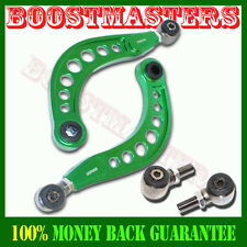 For NEW Honda Civic Rear Camber Arms Kit 06-10 2006 2007 2008 2009 2010 GREEN
