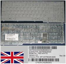 CLAVIER QWERTY UK PB EasyNote SB88 MINOS GP2W AEPB3E00020, MP-03756GB-9205 Blanc