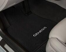 2015 2016 New Hyundai Genesis sedan RWD black carpet floormats floor mats