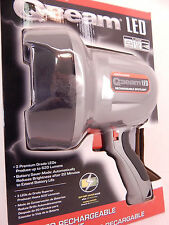 BRINKMANN Q-BEAM 3 LED SPOTLIGHT 800-2801-S LITHIUM-ION RECHARGEABLE W CHARGERS