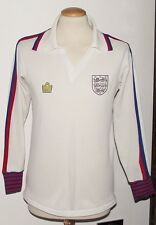 VINTAGE ENGLAND 1978 ADMIRAL SHIRT LONG SLEEVES SIZE MEDIUM 38-40""