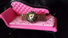 Swarovski Crystals & LION HEAD Betsey J. JEWELRY Barrette Cooper ROAR!