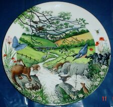 THE BABBLING BROOK Collectors Plate Wedgwood