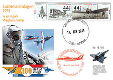 "PAF13-8T3 FDC NETHERLAND ""60 years French Patrol / ALPHAJET & MIRAGE 2000"" 2013"