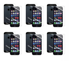 12 pcs=6*(Front+Back) Matte Screen Protector Cover Film Guard For iPhone 5 5S SE