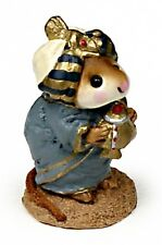 Wee Forest Folk M-121a Wise Man with Turban (blue)