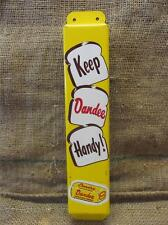 Vintage Dandee Bread Door Push   NOS Antique Old Bakery Sign Soda Cola 8731