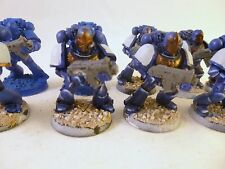 Warhammer 40k Space Marines Tactical squad Converted Helmets Ultra
