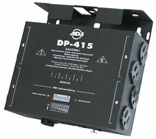 American DJ ADJ DP-415 4-Channel DMX 10 Position Dimmer/Switch Pack DP415