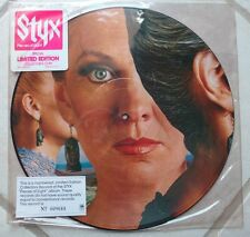 "STYX Pieces Of Eight 12"" PICTURE DISC Vinyl LP '78 Hype Sticker NUMBERED DeYoung"