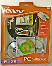 MEMOREX PC DVD CR-R MOUSE PAD WIPES CABLE TIE LENS CLEANER ACCESSORIES KIT