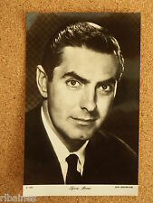R&L Card: The People Show Parade, Tyrone Power Vintage Movie Star No.1054