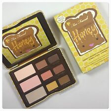 Too Faced PEANUT BUTTER HONEY Eyeshadow Palette - Authentic! LE - NIB!