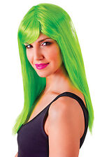 PASSION LONG WIGS ALL COLOURS FANCY DRESS COSTUME ACCESSORY