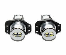 2 AMPOULE DOUBLE LED LUXEON BLANC ANGEL EYES BMW SERIE 3 E90 E91 05-08 320D 330D