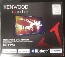 "Kenwood DDX793 6.95"" DVD/CD Receiver w/ Bluetooth--New In Box--Free Shipping!!!"