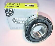 6204-2RS/C3 - Deep Groove Ball Bearing, 20x47x14 mm.