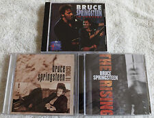 BRUCE SPRINGSTEEN ~3 CD LOT~ THE RISING + 18 TRACKS = NEW & IN CONCERT ~ IMPORT