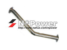 "STAINLESS STEEL 3"" EXHAUST FRONT PIPE FOR MAZDA RX-7 SERIES 6 7 8 FD3S CATLESS"